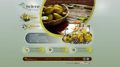 Selene web site tasarimi