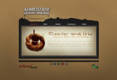 1 ahmedzade site ana sayfa calismasi altin