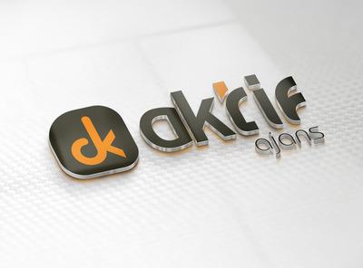 Aktif ajans logo calismasi