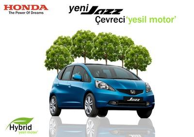 Honda ye il motor bilbord kopya