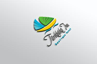 Logo mockup otel