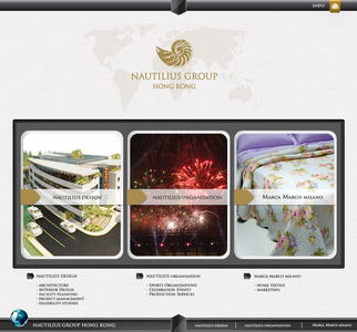 Nautilius group  website