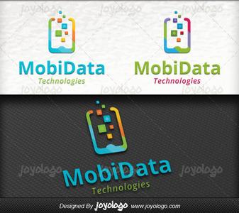 Data mobil logo tasarimi