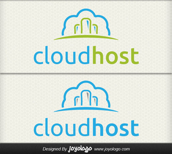 Bulut hosting logo tasarimi