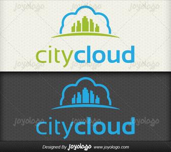 Bulut sehir logo tasarimi