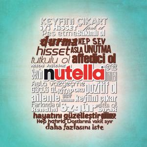 Tipografik nutella