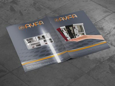 Ayfa firin katalog cover