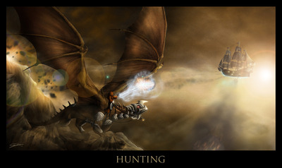 Hunting by ozguncan d3d6pin