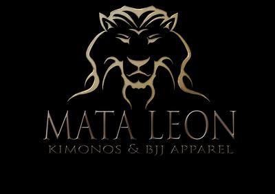 Mata leon logo iron copy