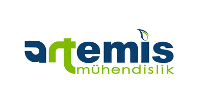 Artemis m hendislik logo tasar m