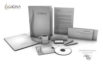 Edona design gmbh kurumsal kimlik by screwshell d4pe1ir