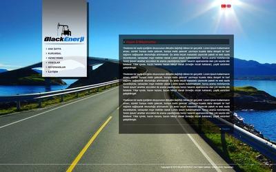Black enerj  web tasarimi