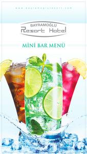 Minibar menu 150x270 mm 2