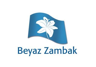 Logo tasar m  beyaz zambak