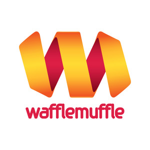 Wafflemuffle logotype