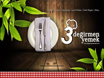 3degirmen catering interface artwork by talin 3
