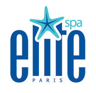 Elite spa logo white