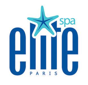 Elite spa logo white