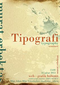 Tipografi afis