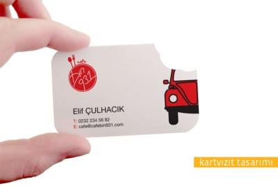 Araba cafe kart