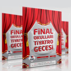 Final tiyatro afis