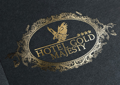 Gold majesty logo