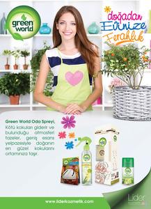Green world  lan  al  mas