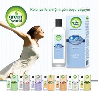 Green world kolonya