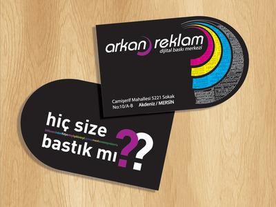 Arknreklam logo ve slogan