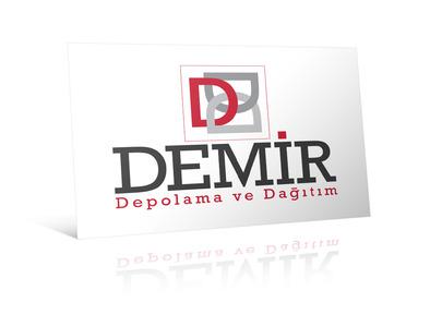 Illustrator demir depolama dagitim logo
