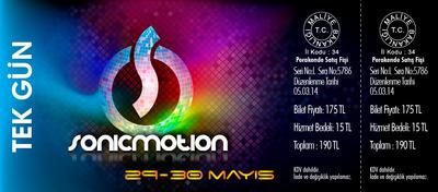 Sonicmotion bilet 01