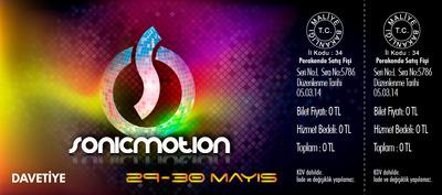 Sonicmotion davetiye