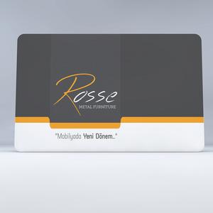 Rosse metal kartvizit 1