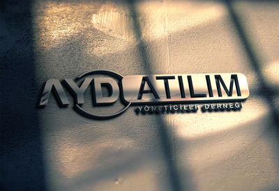 At l m y neticiler derne i logo