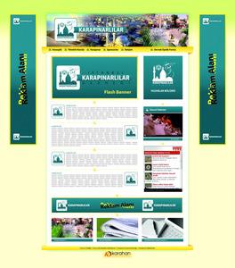 Web sitesi anasayfa tema  al  mas