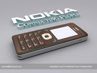 Nokia mental ray render 1 3d