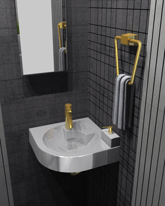 Orta kat lavabo 2