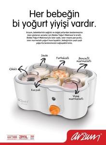 ilan  arzum yogurt makinesi