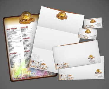 Sera template jurnal mockup