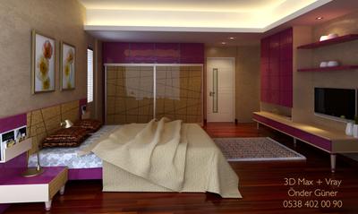 Yatak odas  tasar m 3d max vray