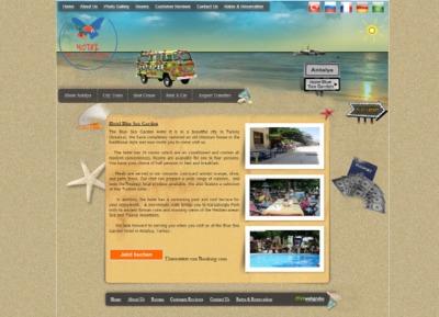 Hotelblueseagarden.com