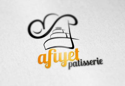 Afiyet logo mockup