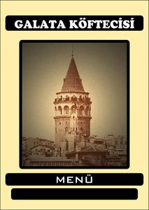 Galata kofte menu