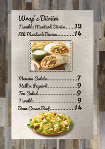 Tree house menu2