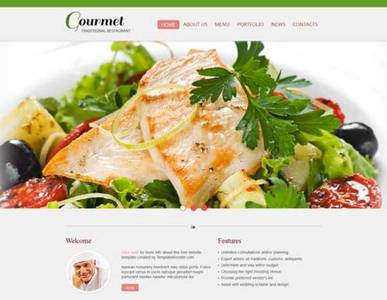 Restaurant html5 templates