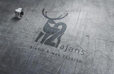 Metal logo mockup 2