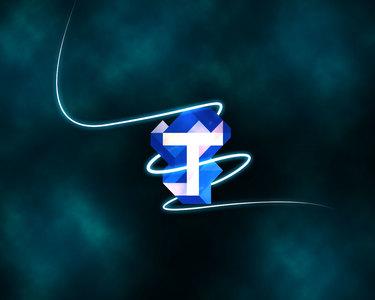 Tar k logo arkaplan