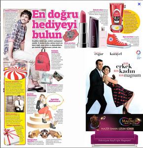 Magnum infinityy gazete sayfasi