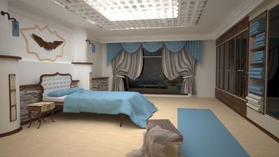 Yatak odasi calismasi
