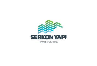 Serkon yapi logo tasarimi